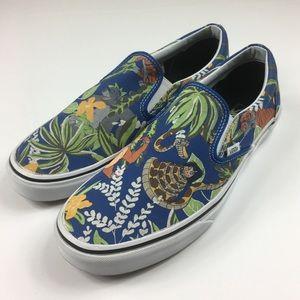 Vans X Disney Jungle Book Slip On shoe men's 10.5
